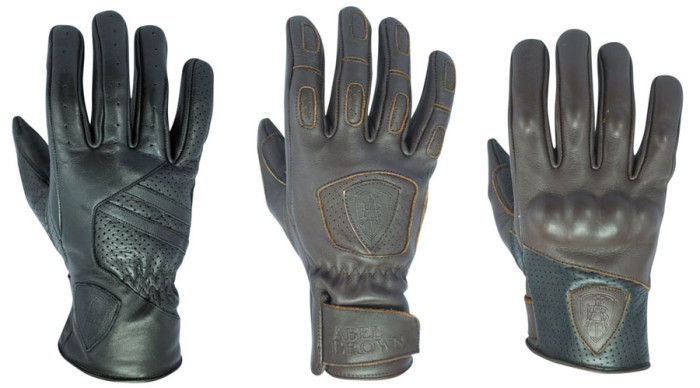 The rest of the starting lineup: Abel Brown's Dual, Hero and Casted gloves.