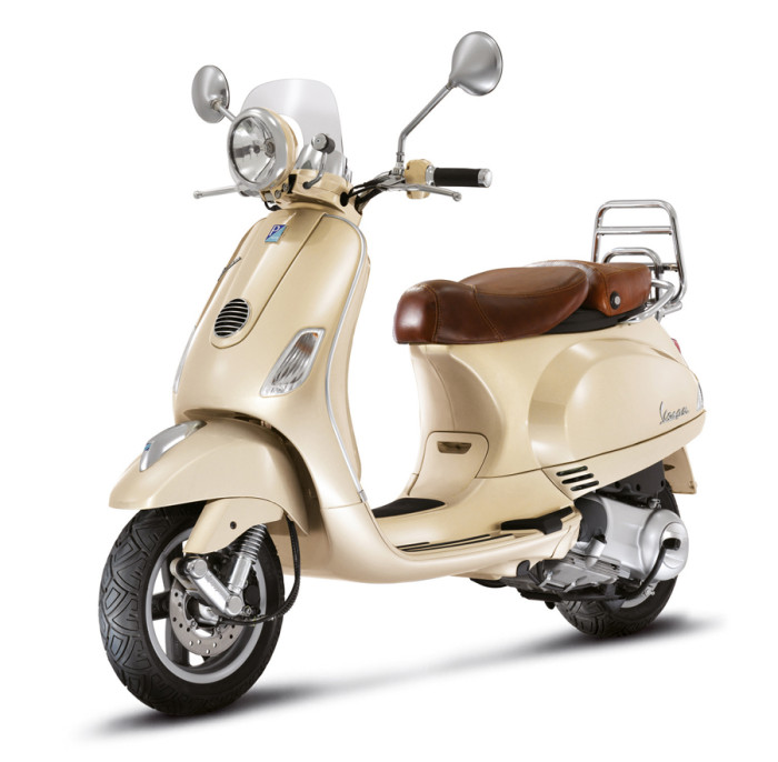 Vespa Americas no longer has a supply of the Siena Ivory LXV.
