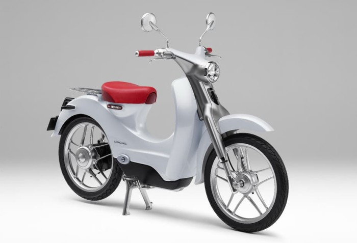 Concept of the new Honda EV-Cub