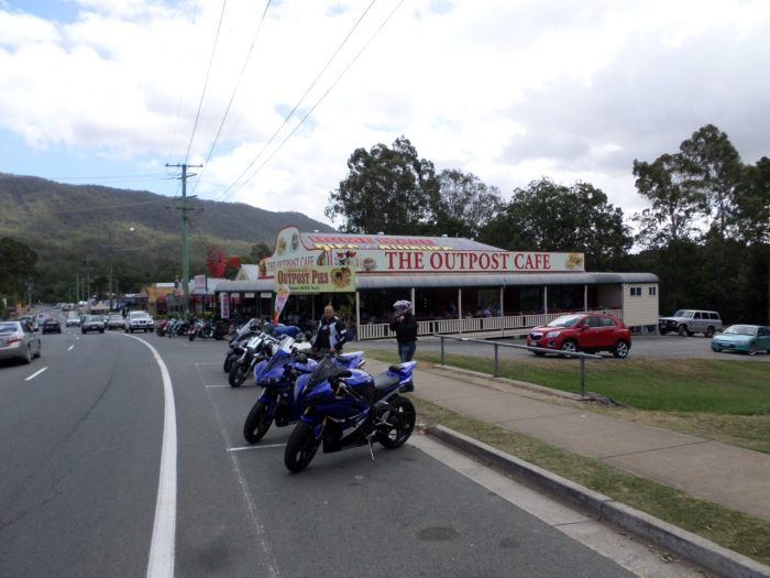 The Outpost Cafe - Canungra 01