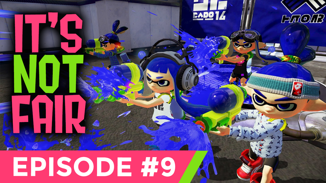 IT'S NOT FAIR!!! [SPLATOON 2 #9] Thumbnail