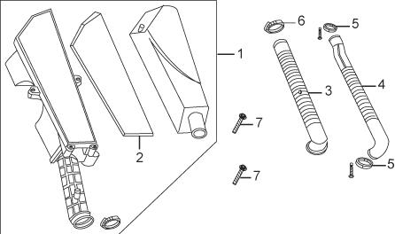 Reservedelstegninger til scooter og knallert