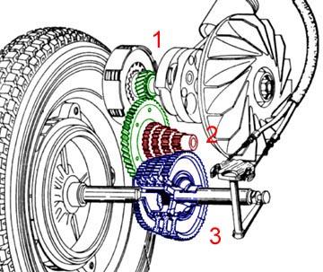 gearbox vespa