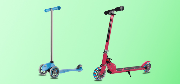 Scooters for Your Kid: 2 Wheel Scooters Or 3 Wheel Scooters