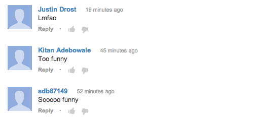 Talking to Myself - Instagram YouTube Comments
