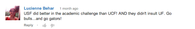 How To Tell If She Likes You - University of South Florida YouTube Comments