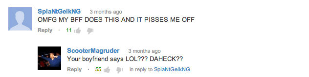 Laugh Out Loud YouTube Comments