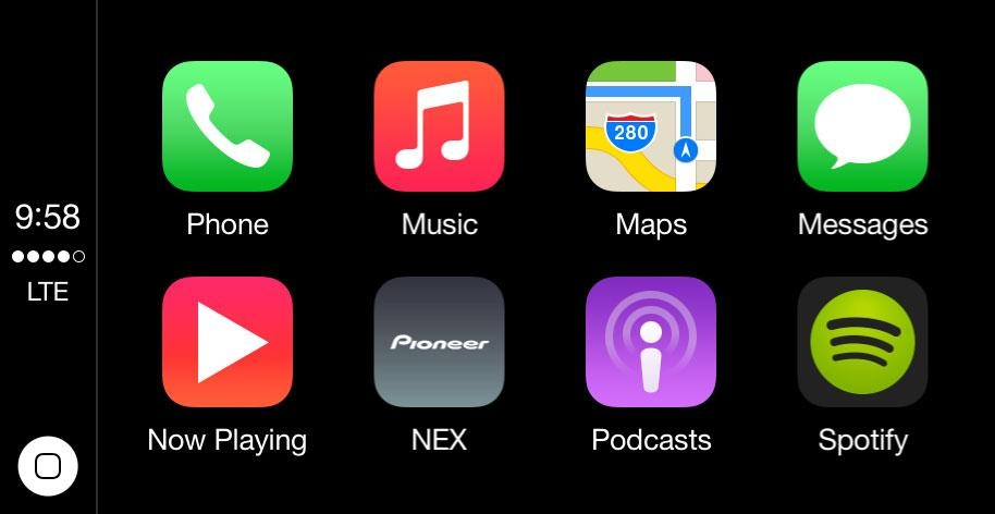 Feature 4 - HARMAN Infotainment System - Apple-carplay-(Coming soon)