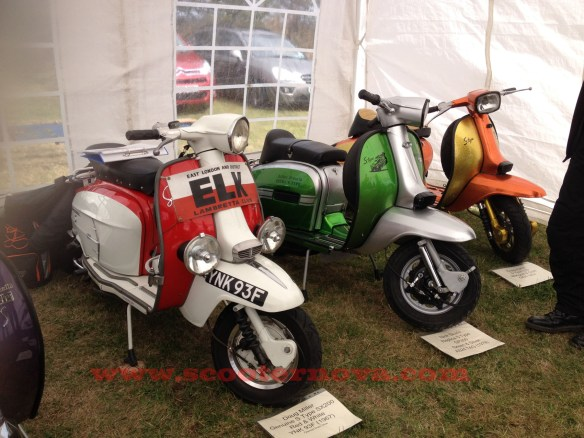 AF S-Type Lambrettas.