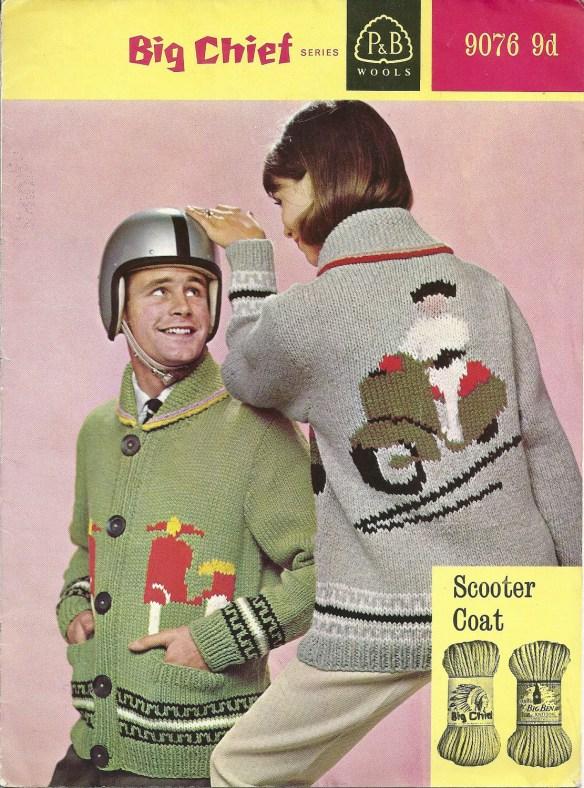 1950s/60s knitting pattern