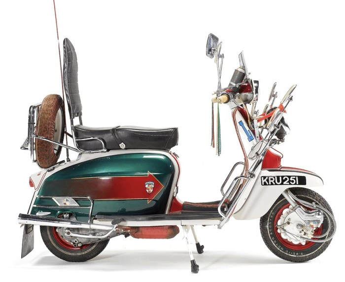 This was the scooter used as Jimmy's Lambretta from the 1979 film Quadrophenia.