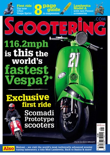 Scootering magazine, May 2014