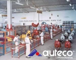 Auteco Lambretta factory, Columbia