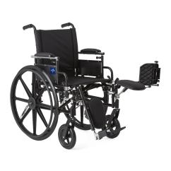 Wheelchair Knee Chair With Umbrella Attached Rental  Elevating Leg Rests Lightweight