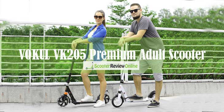 VOKUL VK205 Premium Adult Scooter Review