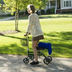 Knee Wheelchair Bows For Wedding Chairs 3 Reasons Why You Should Use A Walker Or Scooter
