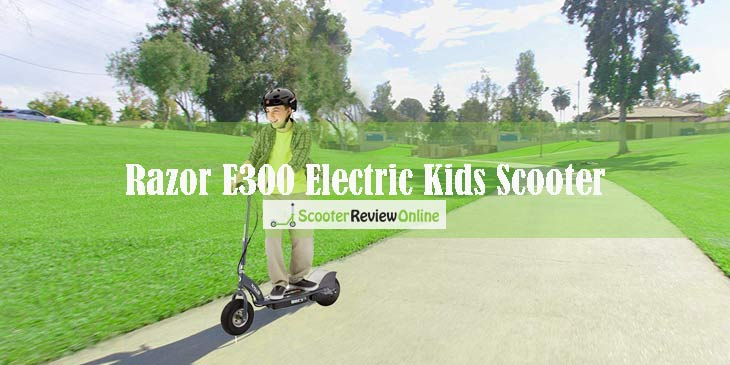 Razor E300 Electric Kids Scooter