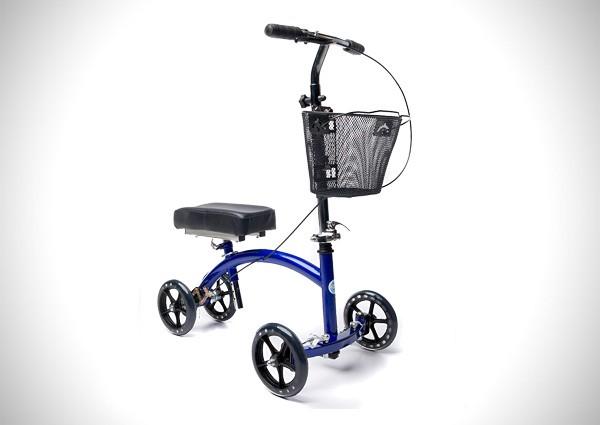 KneeRover Deluxe Steerable Knee Cycle Knee Walker Scooter