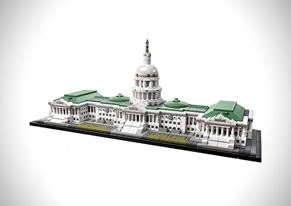 United States Capitol Building Kit (1032 Piece)