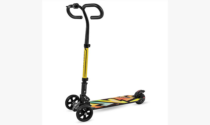 Swagtron Cali Drift Three Wheel Electric Scooter