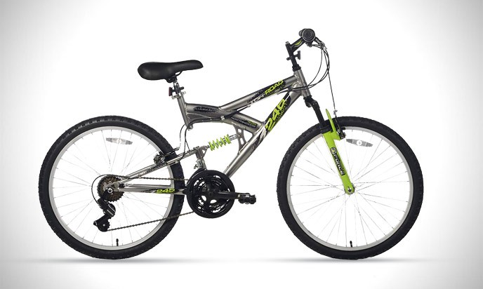 Northwoods Aluminum Full Suspension Mountain Bike