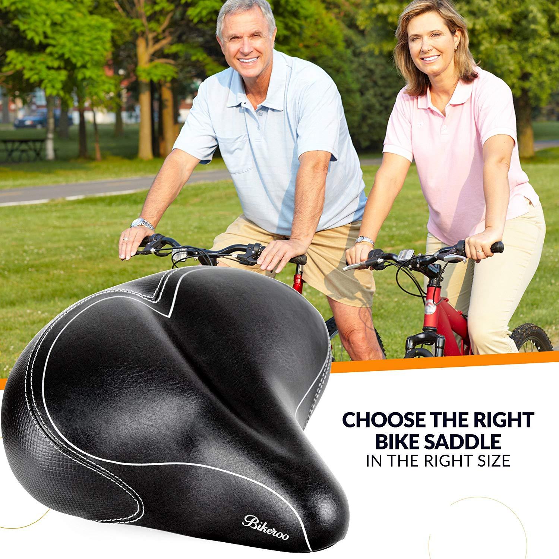 Oversized Comfort Bike Seat