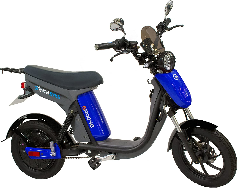 GigaByke Groove 750 Watt Motorized Street Legal Electric Scooter