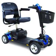 Pride Mobility S74 Go-Go Sport 4-Wheel Electric Mobility Scooter