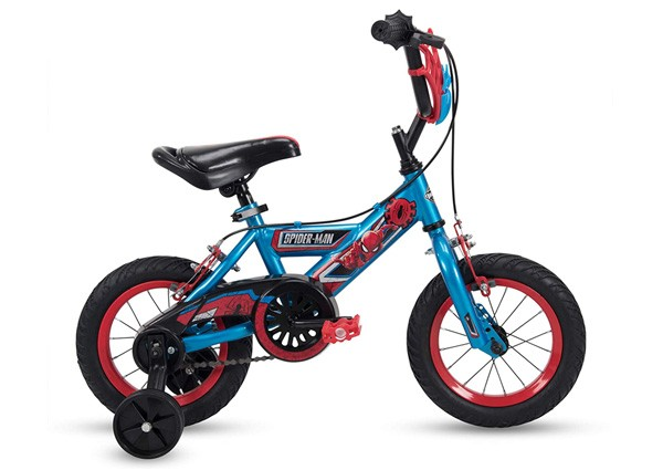 Huffy-12-inch-Spider-Man-Kid-Bike-Web-Plaque-Quick-Connect