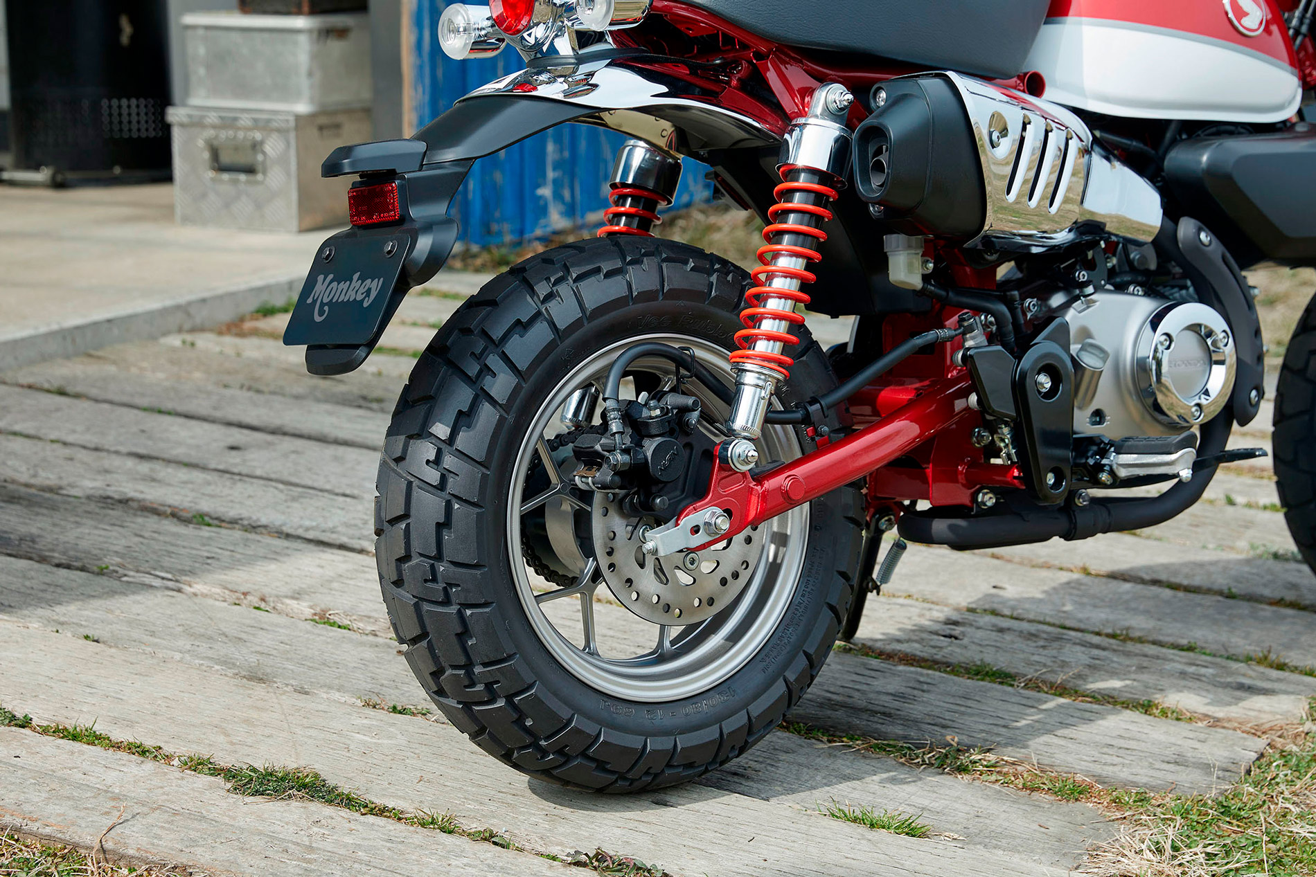 hight resolution of 2019 honda monkey bike back wheel