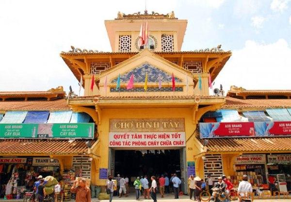 Binh Tay market in China Town (Cholon)