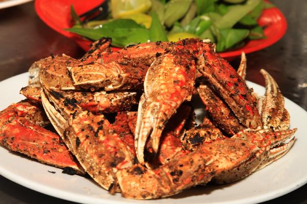 Seafood in Saigon