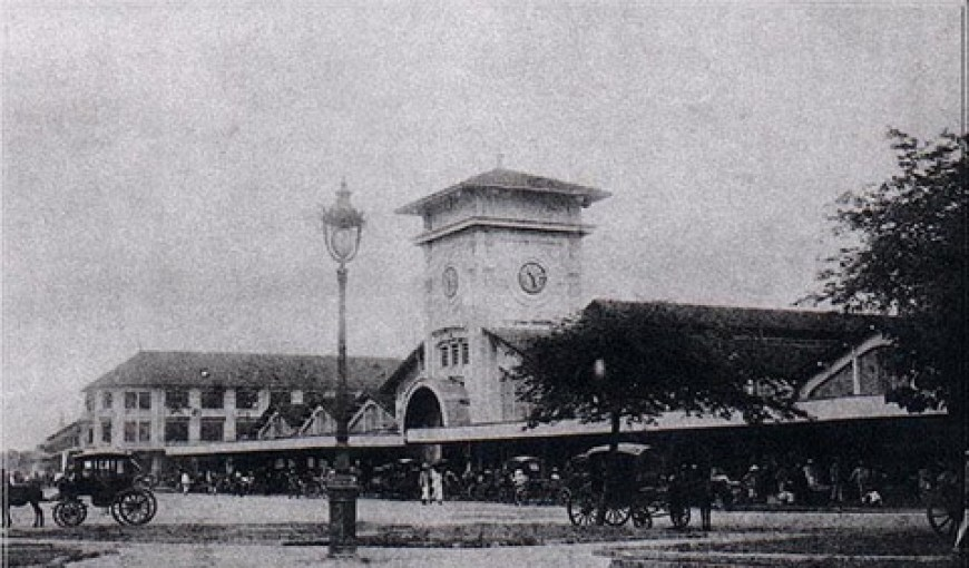 Ben Thanh Market in the past