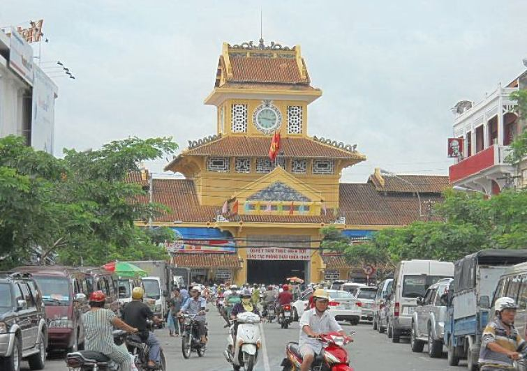 2. Binh Tay market