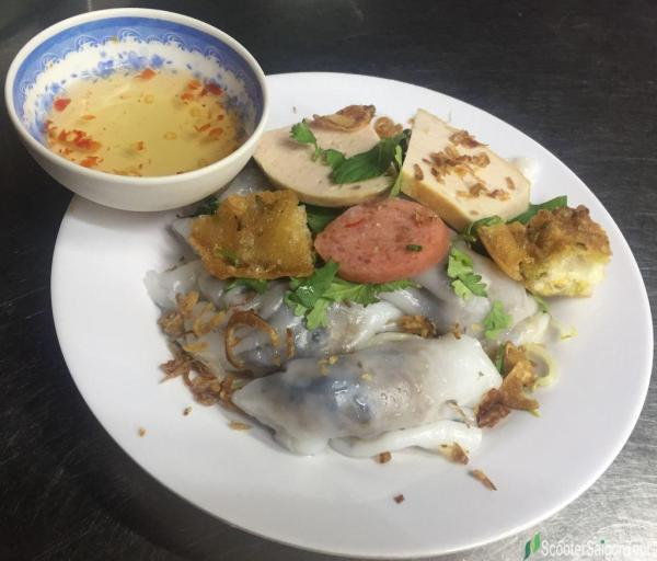 Vietnamese Stuffed Pancake Or Banh Cuon 2