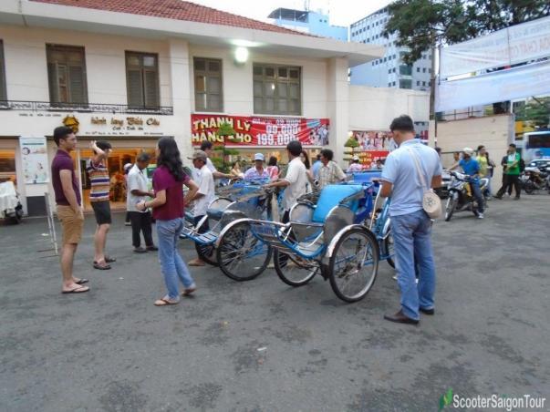 Cyclo Tour Saigon Tracy
