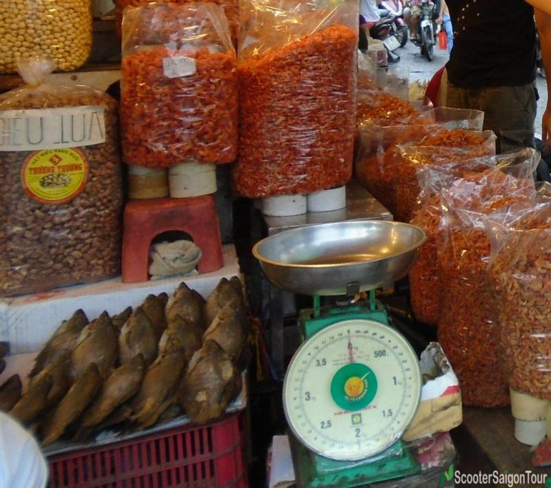 Dried Shrimp At A Market In Vietnam Tracy
