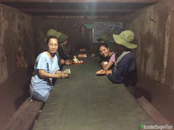 Meeting Room In Cu Chi Tunnels