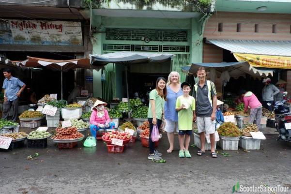 Fruits At Saigon Local Market