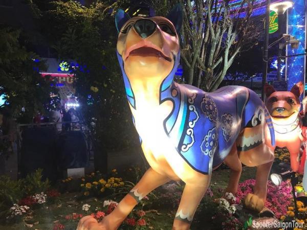nguyen hue street - year of dog 2018