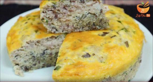Cho Gao Grilled Pork Cake