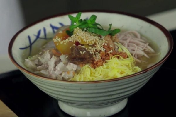 Soc Trang goi da noodle soup