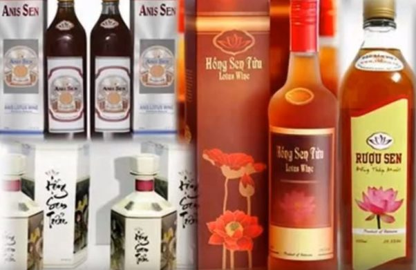 Lotus wine in Dong Thap - the lotus kingdom