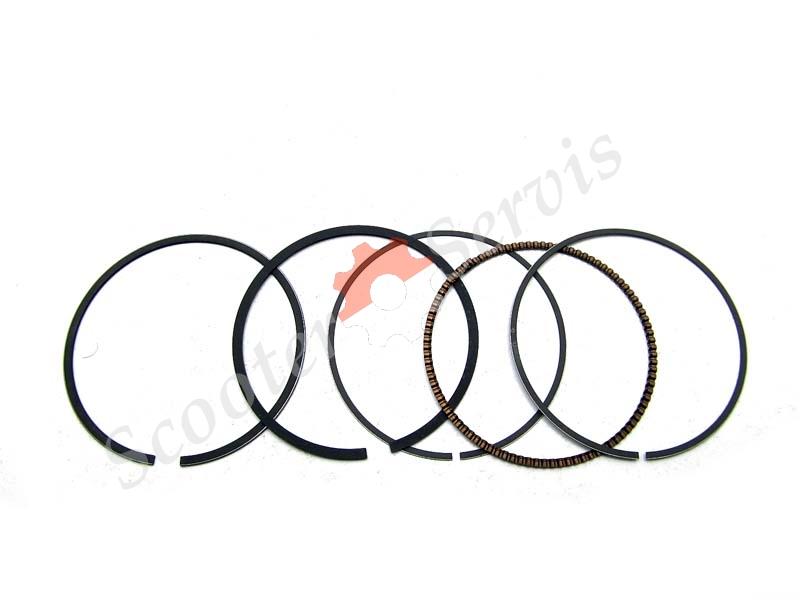 Кольца поршневые Хонда , Honda SH 125, SH 150, STD, +25
