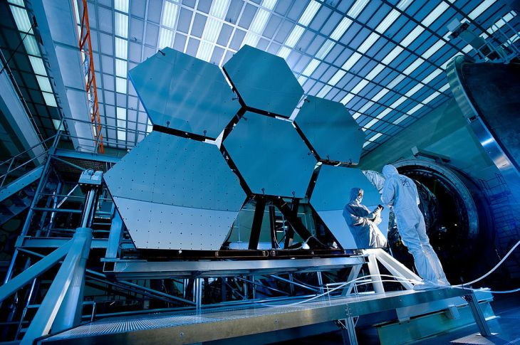 Cryogenic testing of James Webb Space Telescope mirrors