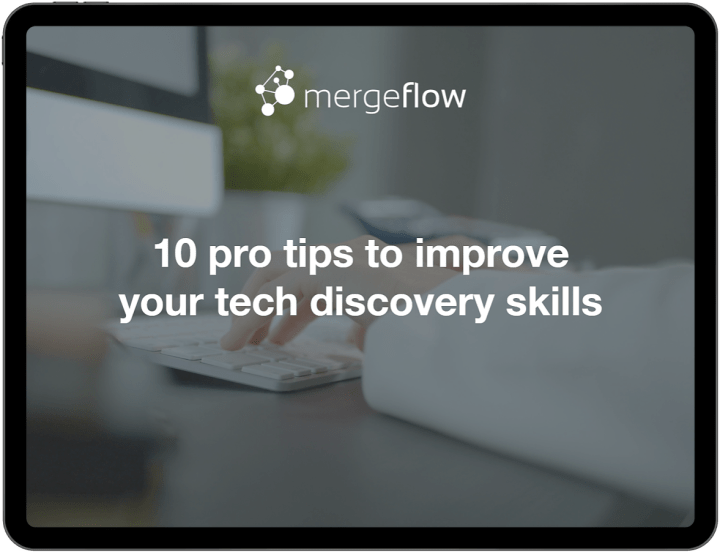 We have made a free ebook with practical tips for improving your tech discovery skills.