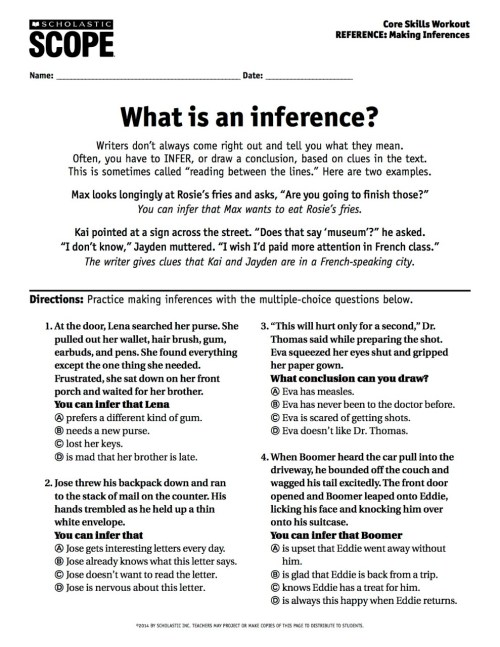 small resolution of Your Must-Have Inference Activity