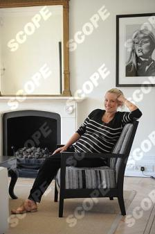 ENGLISH ACTRESS DAVINIA TAYLOR AT HOME - 2011