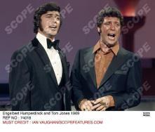 Engelbert Humperdinck and Tom Jones 1969