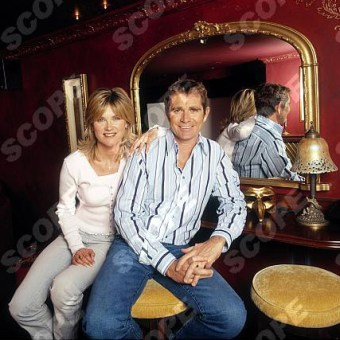 ANTHEA TURNER & GRANT BOVEY AT HOME